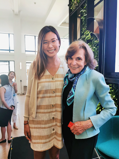 Picture of Isabelle and Sylvia Earle